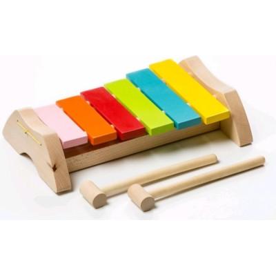 Деревянная игрушка Cubika Ксилофон LKS-1 (12619)
