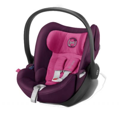 Автокресло Cybex Cloud Q Mystic Pink-purple (517000041)