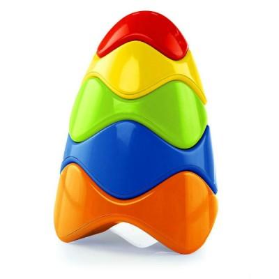 Развивающая игрушка Oball Красочная пирамидка (81106)