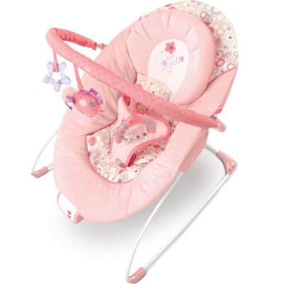 Кресло-качалка розовое Цветистые сны Bright Starts
