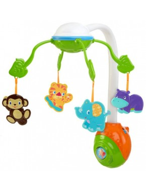 Мобиль Bright Starts Soothing Safari 2-in-1 (8352)