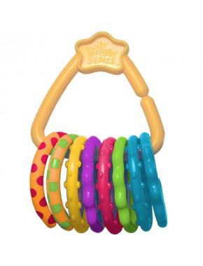 Кольца для подвешивания игрушек Bright Starts, 8 шт