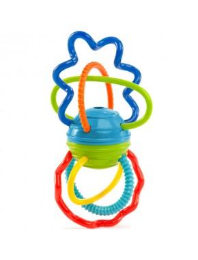 Погремушка-прорезыватель Oball Цветные спиральки (81508)