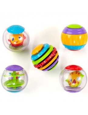 Мячики Круть-верть Bright Starts Shake & Spin Activity Balls (9079)