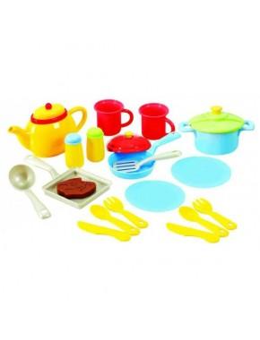 Набор посуды Playgo Моя первая кухня 19 предметов