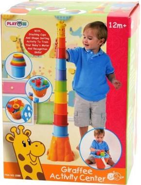 """Развивающая игрушка PlayGo """"Пирамида-жираф"""""""