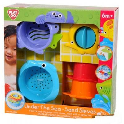Игровой набор для ванной Морские обитатели PlayGo (2390)