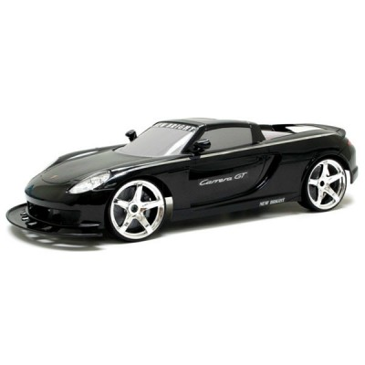 Автомобиль на р/у 1:10 Porsche Black New Bright (61028W)