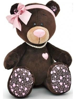 Мягкая игрушка Orange Медведь девочка Milk сидячая 25см (M004/25)
