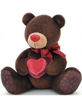 Мягкая игрушка Orange Медведь мальчик Choco с сердцем 20см (C003/20)