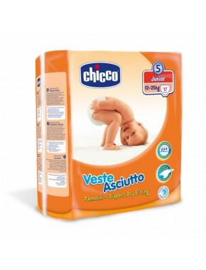 Подгузники Chicco, junior 12-25 кг, 17 шт. 06711.00