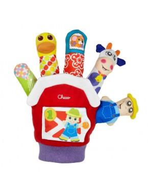 Игрушечная рукавичка Ферма Chicco (07651.00)