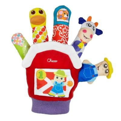 Игрушечная рукавичка Ферма Chicco