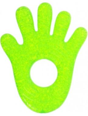 Munchkin — Прорезыватель для зубов Fun Ice Chewy Teether зеленая ручка