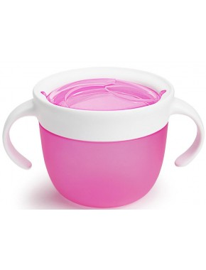 Munchkin — Контейнер для печенья Click Lock розовый