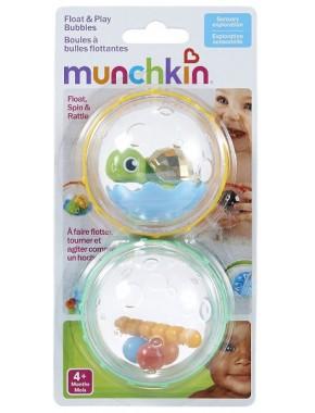Игрушка для ванны «Плавающие пузыря» (черепашка с фигурками)