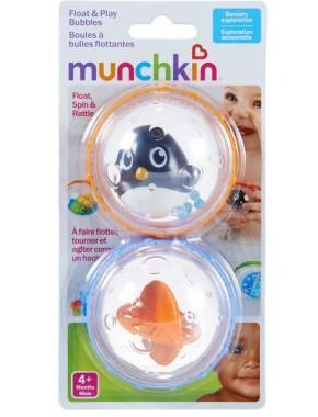 Игрушка для ванны «Плавающие пузыря» (пингвин с желтой пулей)
