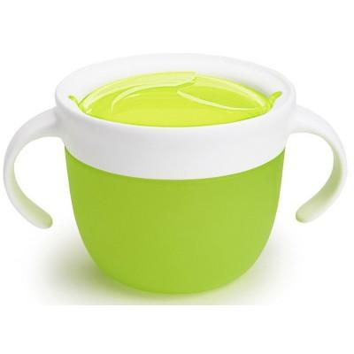 Munchkin — Контейнер для печенья Click Lock зеленый