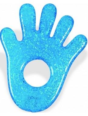 Munchkin — Прорезыватель для зубов Fun Ice Chewy Teether голубая ручка