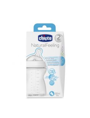 Бутылочка пластик, Natural Feeling, 250 мл, 2м+