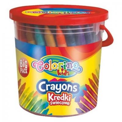 Карандаши восковые Colorino 64 цвета