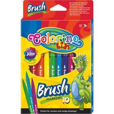 """Фломастеры """"Brush""""с пишущим узлом в виде кисти,"""