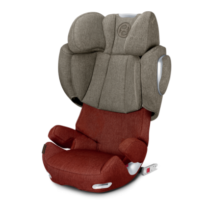 Автокресло Cybex Solution Q3-fix Plus Autumn Gold-burnt red (517000105)