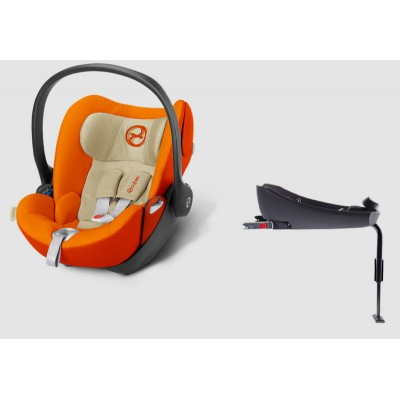 Автокресло Cybex Cloud Q Autumn Gold-burnt red (517000039)