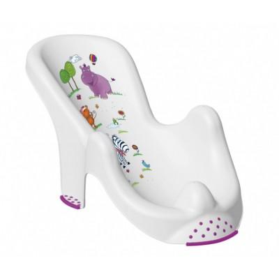 Горка для купания Prima Baby Hippo Белая (8619.91(AB))