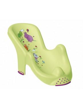 Aнатoмичecкий лежак для купания Prima Baby Hippo Зеленый (8619.16(QE))