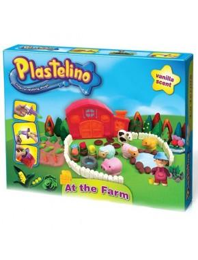 """Набор для лепки Plastelino """"Веселая ферма"""""""