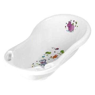 Детская ванночка Keeeper Hippo 84 см Белая (8436.91(AB))