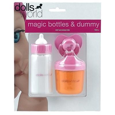 Игрушечный набор DollsWorld бутылки и соска-пустышка для куклы (8512)