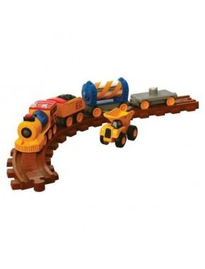 Железная дорога Toy State CAT со светом и звуком