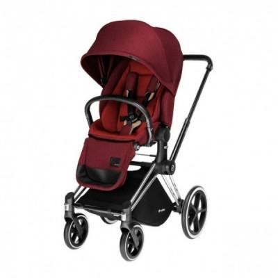 Универсальный прогулочный блок CYBEX Priam Lux Seat Hot & Spicy Denim-red (515215209)