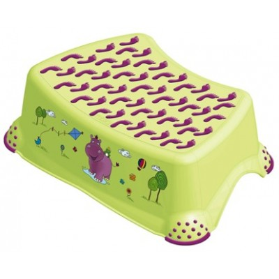 Подставка Prima Baby Hippo зеленая (8642G)