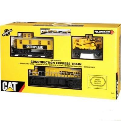 """Железная дорога  CAT """"Строительный экспресс"""" Toy State"""