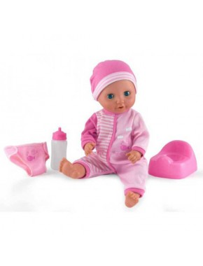 Кукла DollsWorld Малыш Пи-Пи, который мочит памперс 38 см
