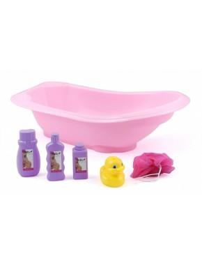 Игрушечная ванночка DollsWorld с аксессуарами