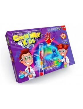 """Безопасный образовательный набор для проведения опытов """"CHEMISTRY KIDS"""" 2"""