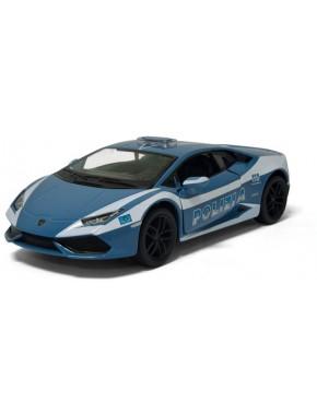 Игрушка машинка металлическая инерционная Полиция Lamborghini Huracan LP610-4