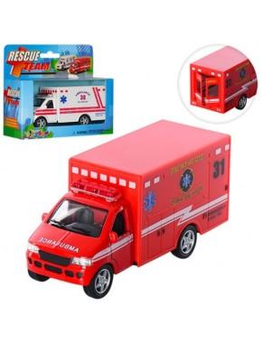 Модель пожарный грузовик Rescue team