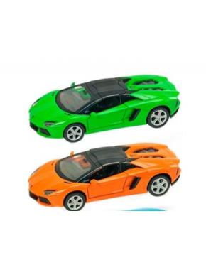 Металлическая машинка Lamborghini Aventador
