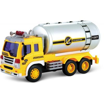 Автоцистерна Dave Toy Junior Trucker 28 см со светом и звуком