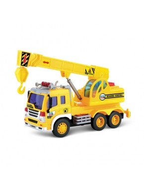 Подъемный кран Dave Toy Junior Trucker 28 см со светом и звуком
