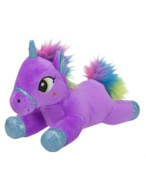 Мягкая игрушка Toy World Единорог Лиловый с радужной гривой 20 см (5234)