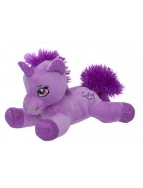 Мягкая игрушка Toy World Единорог Лиловый 20 см (5228)
