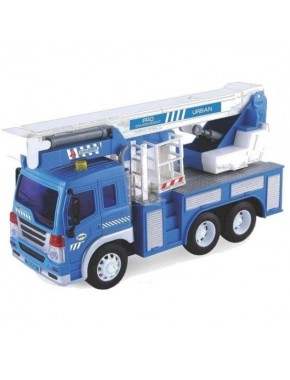 Автокран Dave Toy Junior Trucker 28 см со светом и звуком (33019)