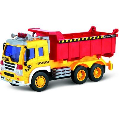 Самосвал Dave Toy Junior Trucker 28 см со светом и звуком (33024)