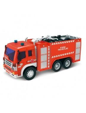 Пожарная машина Dave Toy Junior Trucker 28 см со светом и звуком (33016)